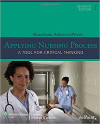 Image of Applying Nursing Process a tool for critical thinking